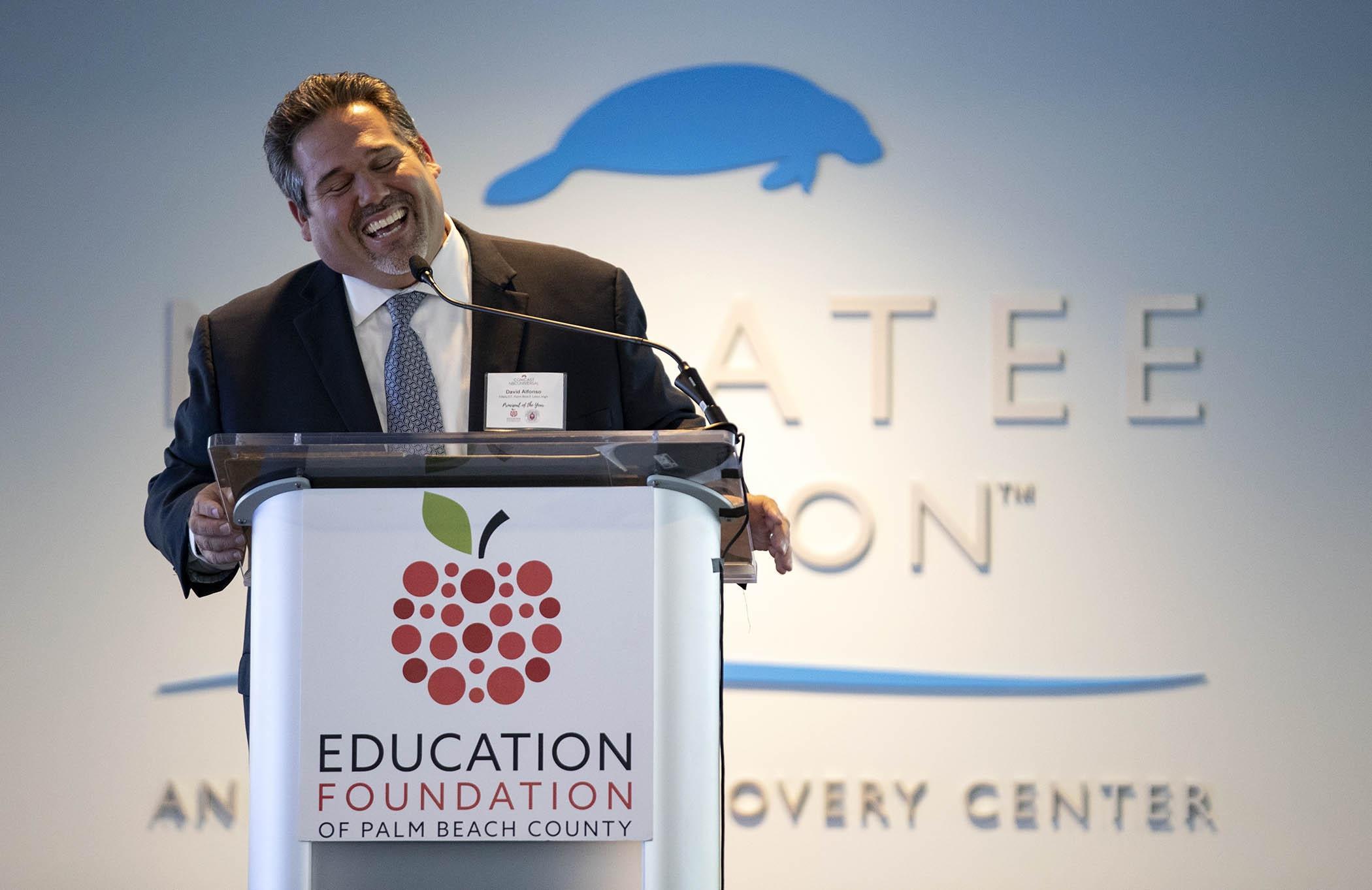 Principal David Alfonso