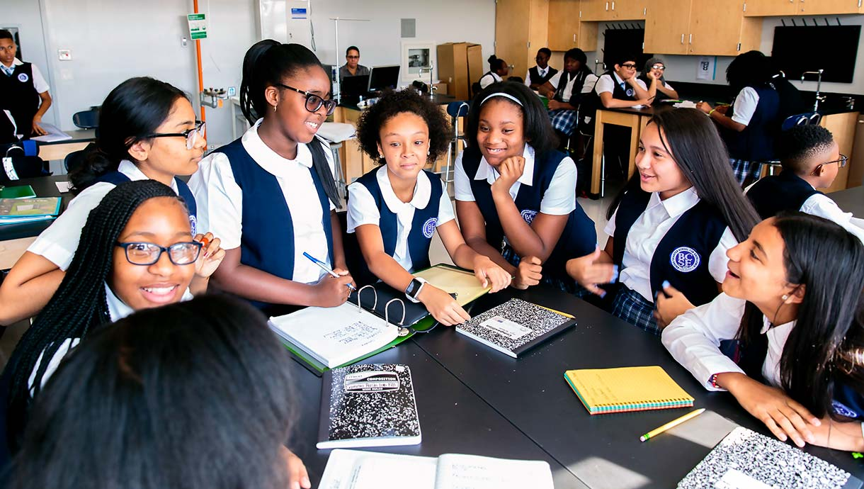 Bronx Charter School for Excellence students