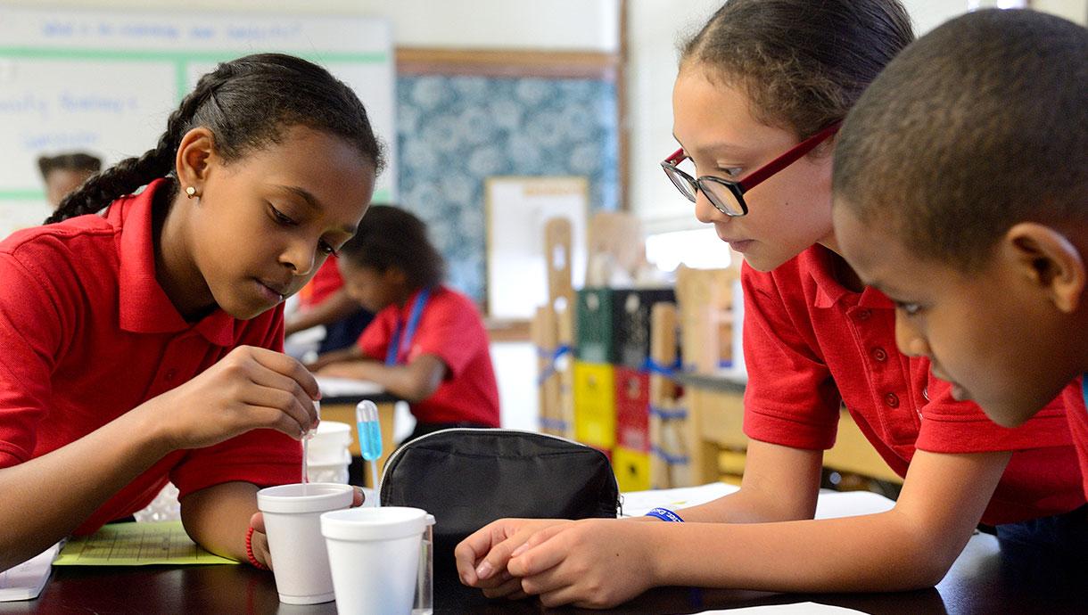 Center City Public Charter Schools students