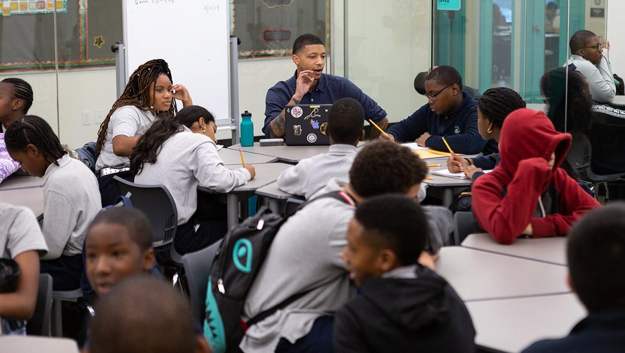 Brooklyn Lab Charter School students