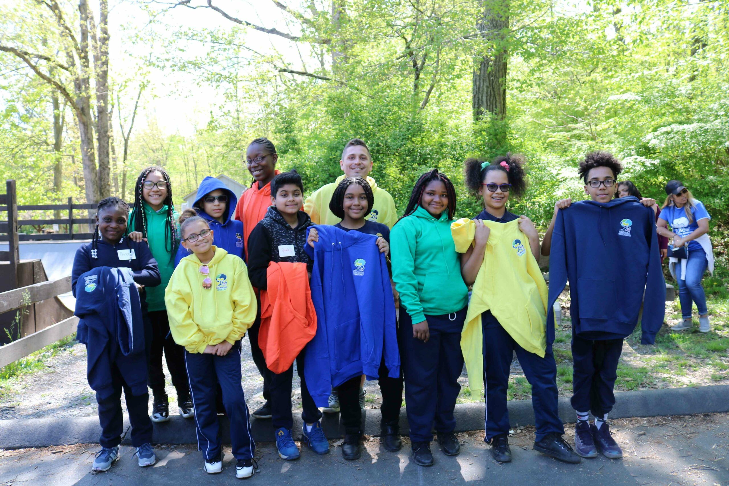 Family Life Academy Charter Schools class gathering