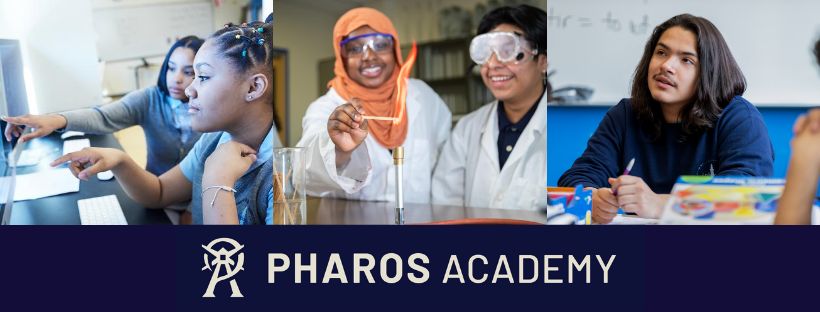 Pharos Academy Charter School composite of students